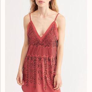 "Free people ""Arizona Nights"" embellished Dress"